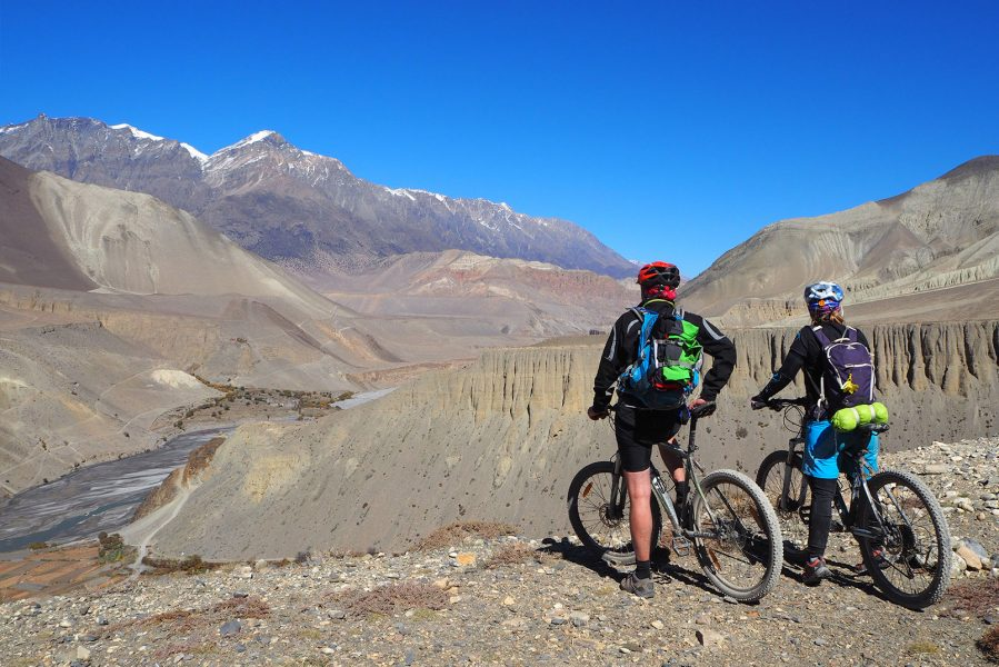 Enduro Downhill Mountain Biking in Mustang.