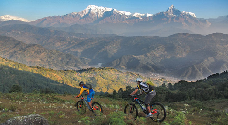 Mountain Biking Trails in Pokhara