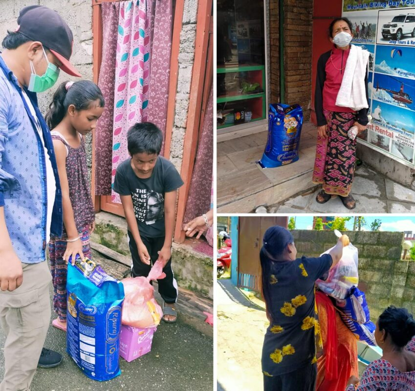 Covid 19 lockdown relief to needy people
